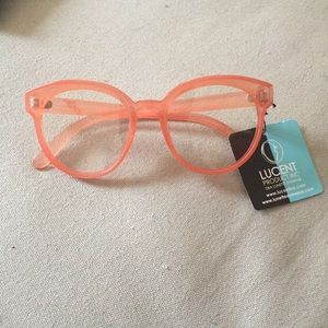 Urban Outfitters Pink Fake Glasses